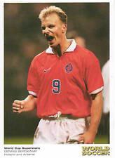 Dennis Bergkamp Arsenal, Ajax, Inter Milan, Netherlands World Cup 98 Postcard