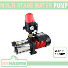 High-Pressure Multi-Stage Garden House Pool Auto Water Pump 1800w 2.5HP