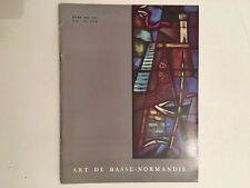 BROCHURE ART DE BASSE-NORMANDIE HIVER 1963-1964 N°32 BE