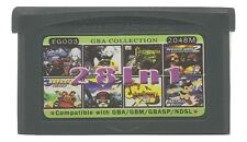 28 in 1 Multicart GBA Game Boy Advance w/ Case Castlevania Lego Sonic Astro Boy