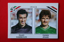 Panini MEXICO 86 N. 102 IRAQ  With back GOOD CONDITION!!