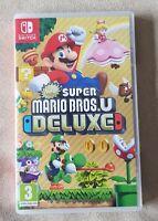 Nintendo Switch game - New Super Mario Bros. U Deluxe