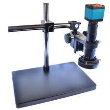 14MP HDMI Stereo Microscope Camera HD USB Industrial Camera +180X C-mount Lens