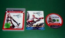 Final Fantasy XIII 13 Essentials m. Anl. und OVP fuer Sony Playstation 3 PS3