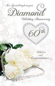 Special Couple Diamond Wedding - 60th Wedding Anniversary Card