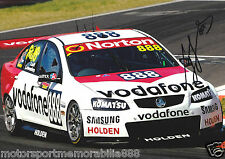 10X Craig Lowndes 2012 6x4 photos V8 Supercars BATHURST RETRO VODAFONE HOLDEN
