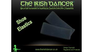 PLAIN ELASTICS FOR IRISH DANCING SHOES