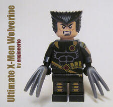 LEGO Custom -- Wolverine -- Ultimate X-Men Marvel Super heroes mini figure