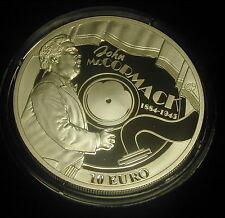 IRELAND 10 EURO SILVER PROOF 2014.  JOHN McCORMACK. TENOR.