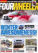 Four Wheeler Magazine January 2017 WINTER AWESOMENESS