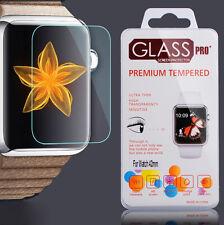 3x Apple Watch 42mm Schutz folie Glas Panzerfolie Schutzglas iwatch Tempered