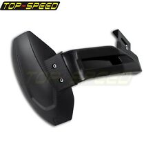 Motorcycle Plastic Rear Wheel Cover Fender Splash Guard Mudguard with Bracket