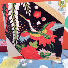 K3;KIMONO DESIGN;SQUARE;ANY AGE;GREETINGS CARD; WEDDING;QUALITY;JAPAN STYLE