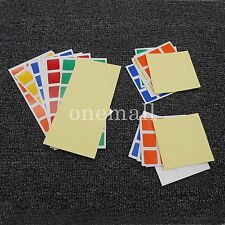 10PCS 3x3x3 Cube Replacement Stickers for Dayan Speed PVC Rubiks cube sticker