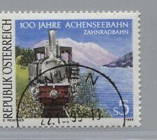Österreich - Austria 1962 100 J. Achenseebahn, Zahnrad-Dampflokomotive, 1989 °