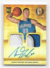 2014-15 Aaron Gordon Gold Standard AUTO PATCH RC #D 21/25 (T283)