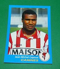 N°75 CAPOUE AS CANNES ASC LA BOCCA PANINI FOOT 96  FOOTBALL 1995-1996