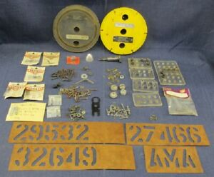 MIXED LOT #1 1960'S MODEL AIRPLANE PARTS ACCESSORIES & PIECES