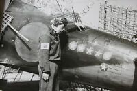 WWII Photo WW2 Japanese Ace Pilot Zero Kill Markings  World War Two Japan / 2501