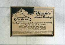 1915 Marple Sheets, Hollins Mill Company Manchester