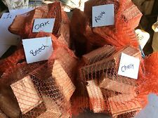 wood smoking chunks,14 Kg,BBQ Wood ,smoking Wood,Apple,oak,cherry,beech,freepost