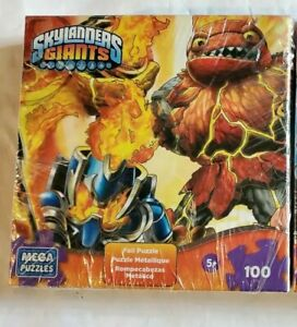 New Skylanders Giants Foil 100 Pieces Jigsaw Puzzle Hot Head USA SHIPS FREE