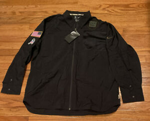 Men's New York Giants Nike Salute To Service Sideline Jacket NWT XL