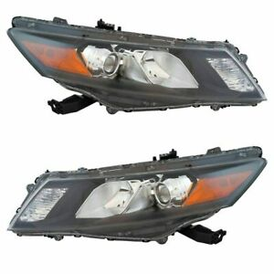 FIT FOR 2010 2011 2012 HD ACCORD CROSSTOUR HEADLIGHT PASSENGER & DRIVER