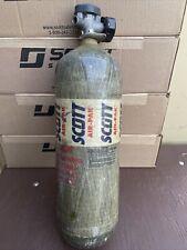 Scott Scba 4500psi Carbon Fiber 60 Min Tank Cylinder 2005 Cga347 Ex Fire Fighter