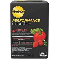Miracle-Gro Performance Organics 1 Lb. 9-4-12 Plant Food for Edibles 6 pk