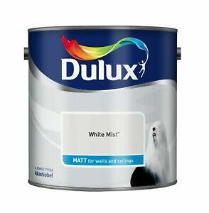 Dulux Emulsion Matt Paint ALL COLOURS 2.5L - Walls & Ceiling