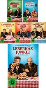 6 DVDs * EBERHOFER FANSET - ALLE 6 FILME INKL. LEBERKÄSJUNKIE IM SET # NEU OVP