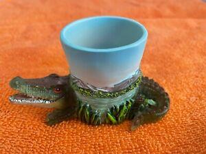 Alligator Candle Holder