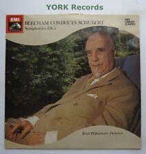 SXLP 30204 - SCHUBERT - Symphonies No 3 & 5 BEECHAM Royal PO - Ex Con LP Record