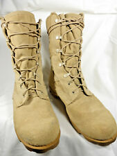 Military Boots Desert Tan Combat Hot Weather Size 7 1/2 XW Rosearch Speed Lace