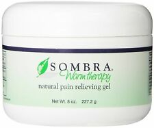 NEW 8 OZ JAR of Sombra Warm Therapy Pain Relieving Gel with Fast FREE Shipping