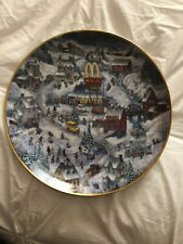 Mcdonald Limited Edition Collector Plates: By Bill Bell: Golden Country #Ha9915