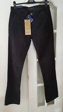 Henri Lloyd Black Corduroy trousers Size W31 L34