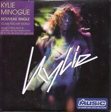 "KYLIE MINOGUE ""COME INTO MY WORLD""  FRENCH CD SINGLE CARDBOARD SLEEVE ++ RARE ++"