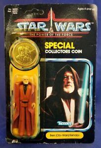 Vintage Kenner Star Wars POTF (Obi-Wan) Ben Kenobi  92-Back MOC