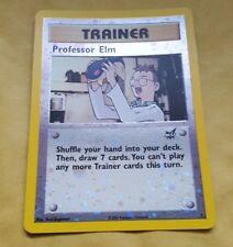 POKEMON BEST PROMO CARD - #3 PROFESSOR ELM (REV HOLO)