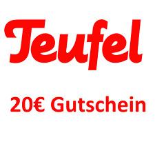 3db27bd066ead3 Neues AngebotTeufel.de Gutschein 20
