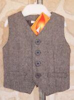 Gilet de costume neuf taille 3 mois marque Nucleo étiqueté à 24,99€ (b)