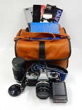 OLYMPUS OM-10 35MM SLR FILM CAMERA WITH ZUIKO AUTO-S 50MM F/1.8 SERIAL #1279146