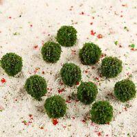 30Pcs Model Trees Miniature Landscape Scenery Train Railways Trees Scale 1:100