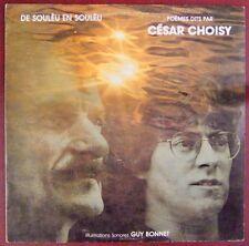 César Choisy 33 tours De Souleu en souleu Guy Bonnet