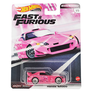 Hot Wheels Honda S2000 Fast and Furious Quick Shifters GBW75-956J 1/64