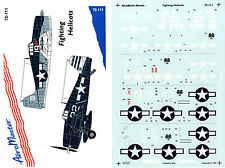 AEROMASTER 72-111 - DECALS 1/72 - FIGHTING HELLCATS