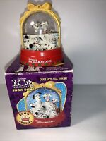 Vintage 101 Dalmations 1996 McDonalds Snow Furries Water Globe Dome Collectible