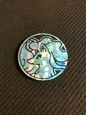 Pokemon Alolan Ninetales Team Up Blister Pack Collector COIN